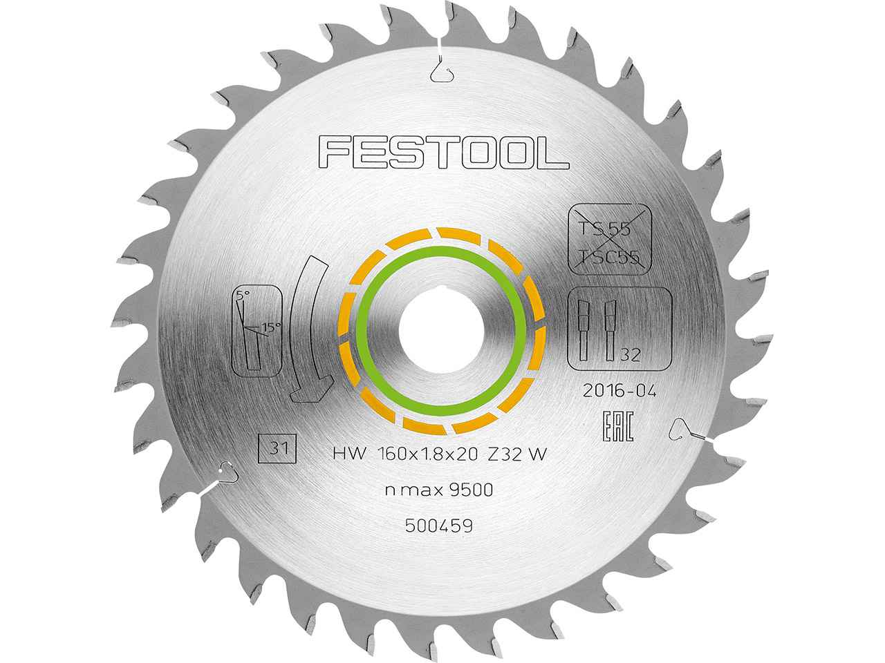 FESTOOL Festool Fine Saw Blade W// 32 Teeth