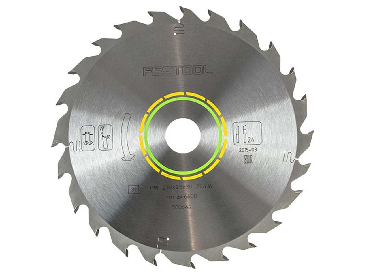 Festool 230x2.5x30 W24 230x30mmx24T Standard Circular Saw
