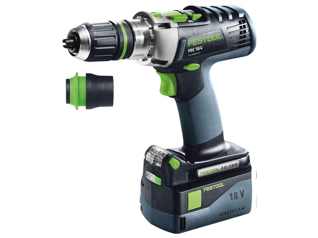 festool pdc 18 4 li 5 2 plus sca gb 18v 2 x cordless percussion drill systainer 2 df. Black Bedroom Furniture Sets. Home Design Ideas