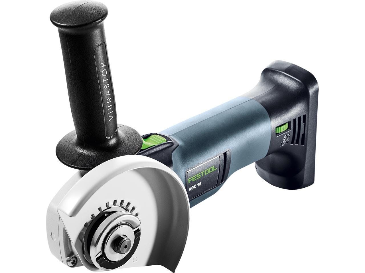 The new Festool AGC 18 V cordless angle grinder - Retail