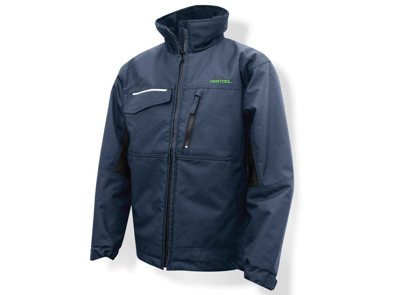 Festool 497902 Snickers Winter Jacket Men Dark Blue Small
