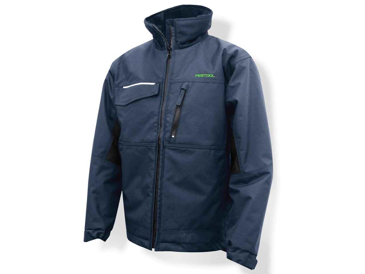 Festool 497902 Snickers Winter Jacket Men Dark Blue Small