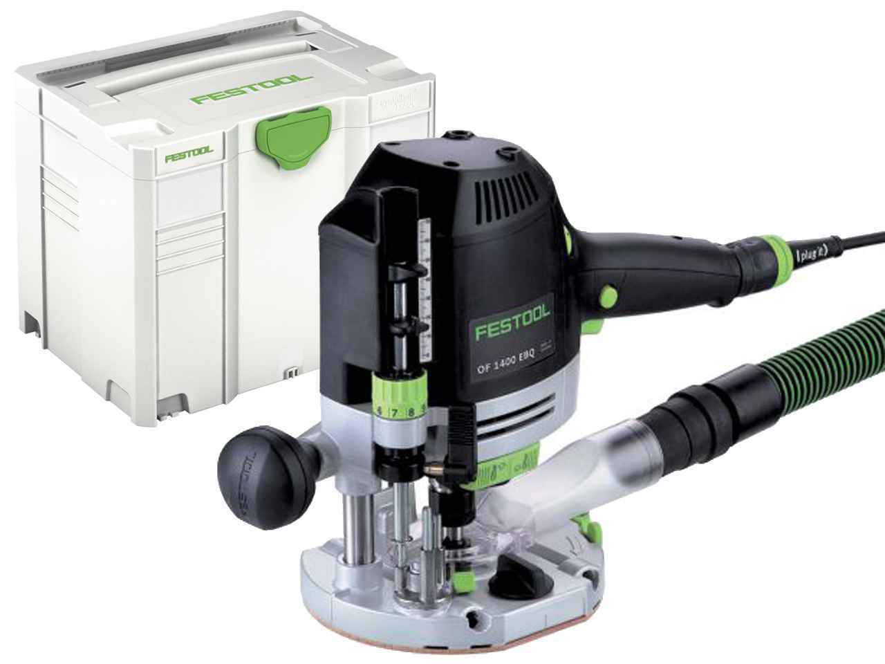 festool of1400 eq plus 110v 1400w router in systainer 4 t loc. Black Bedroom Furniture Sets. Home Design Ideas