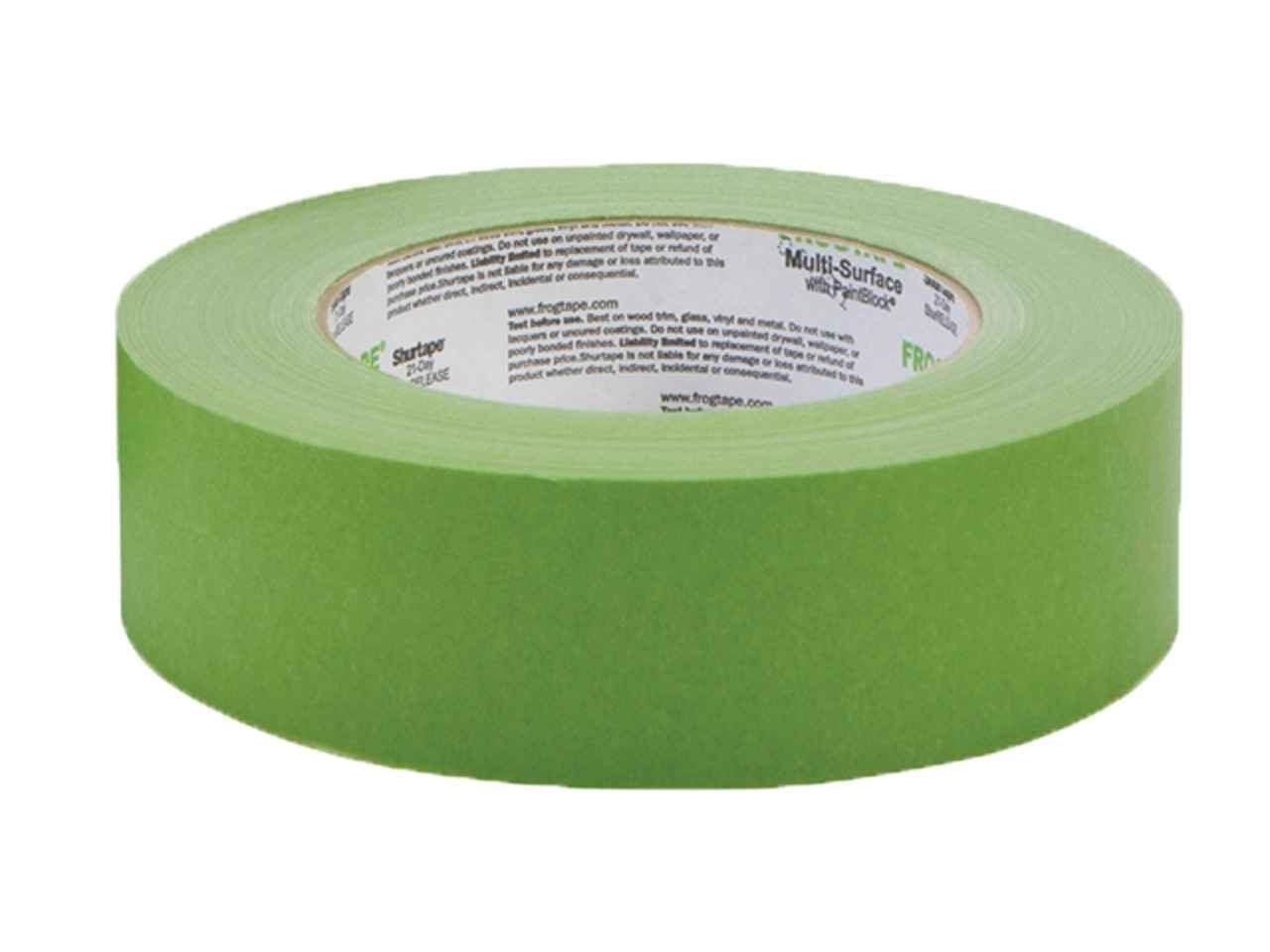 frogtape 155874 36mm x 41.1m multi-surface masking tape