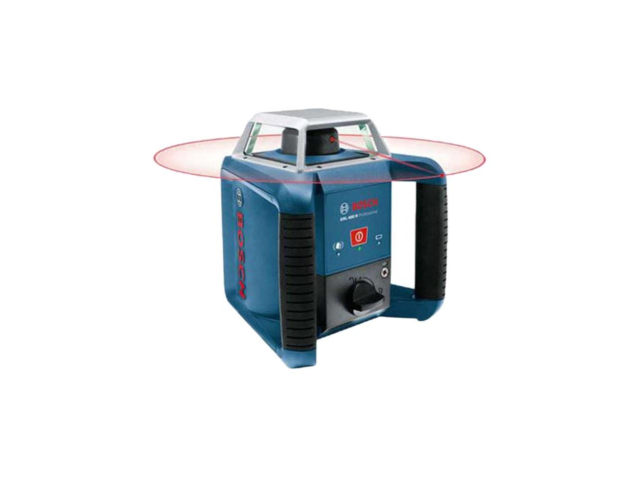 bosch grl400h170 outdoor rotating laser level receiver lr1 gr240. Black Bedroom Furniture Sets. Home Design Ideas