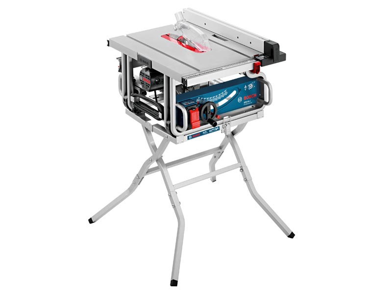 Bosch GTS10J2 + GTA 600 240v 10in Portable Table Saw With Stand