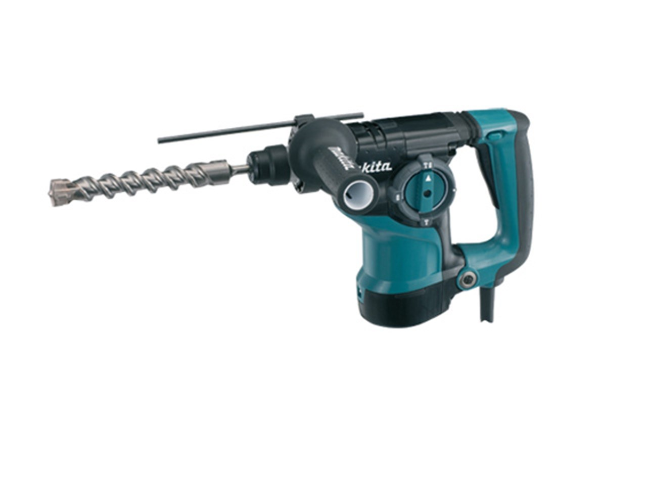makita hr2811f 1 2 240v 28mm sds plus rotary hammer and 15 drill bits. Black Bedroom Furniture Sets. Home Design Ideas