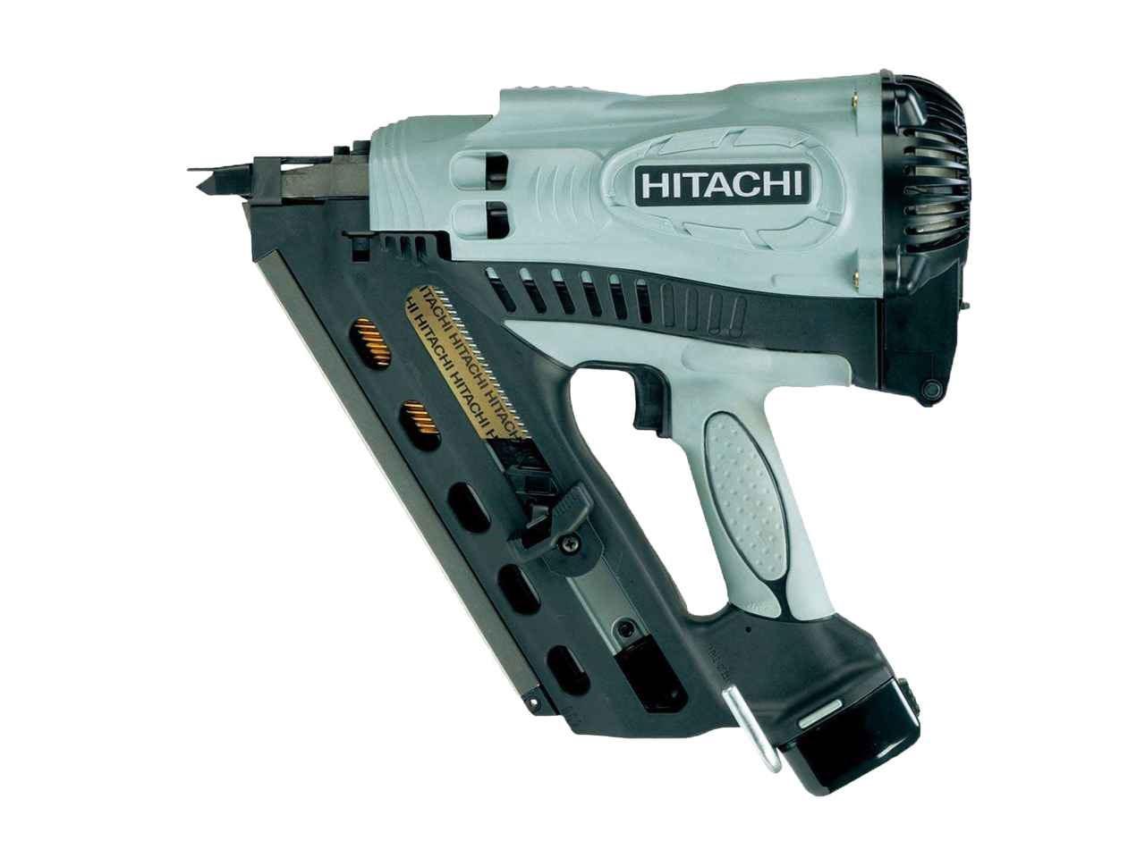 Hitachi NR90GC2/J8 First Fix 90mm Gas Framing Nailer Li-Ion