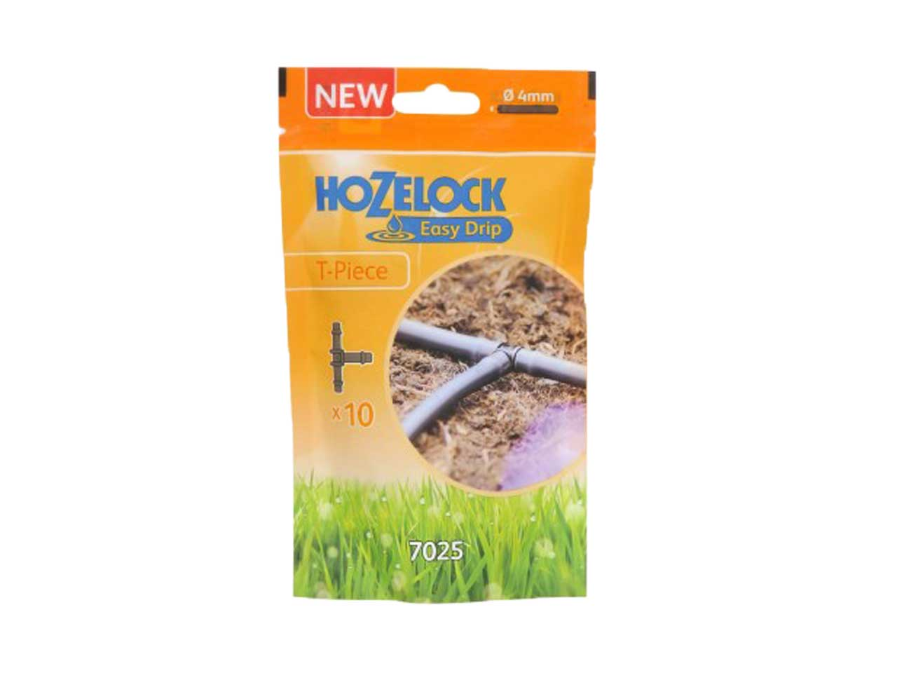 Pack of 10 1 . Hozelock 4 mm T-Piece
