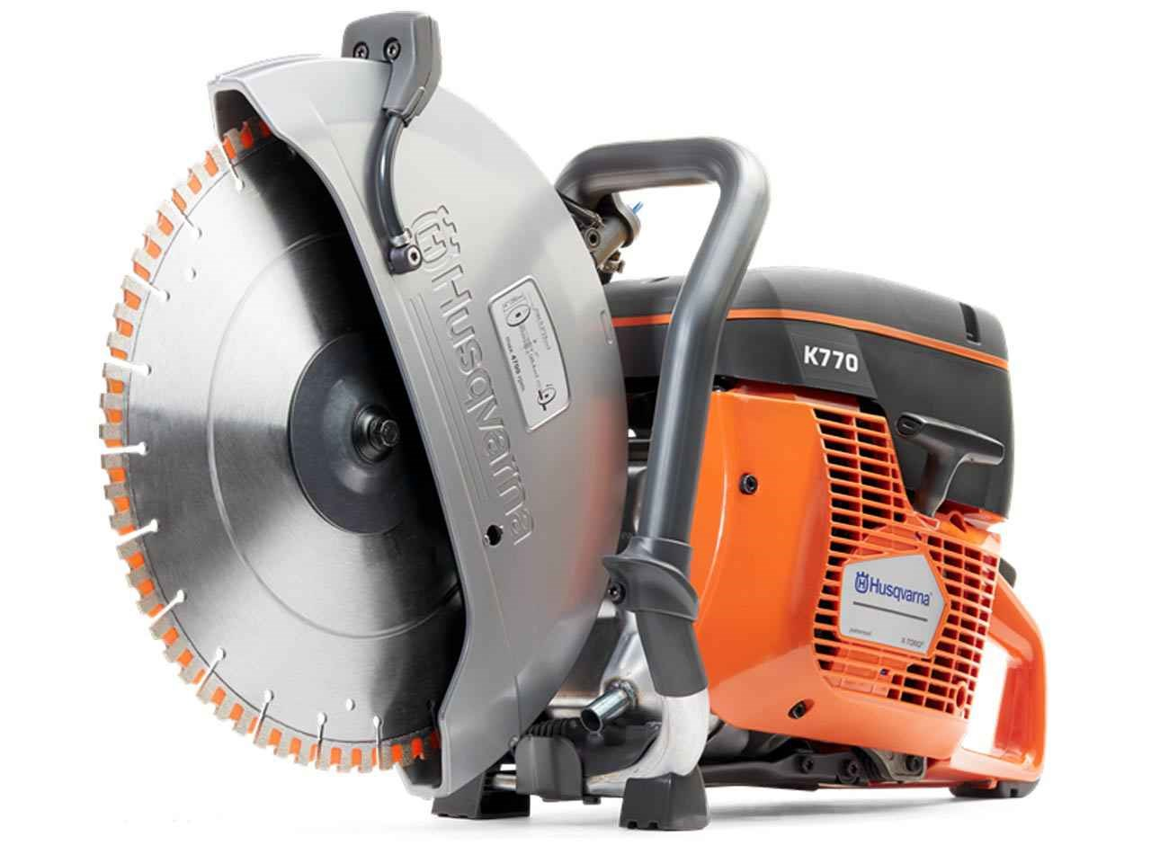 Husqvarna k770 300 300mm12in disc cutter and diamond blade greentooth Images