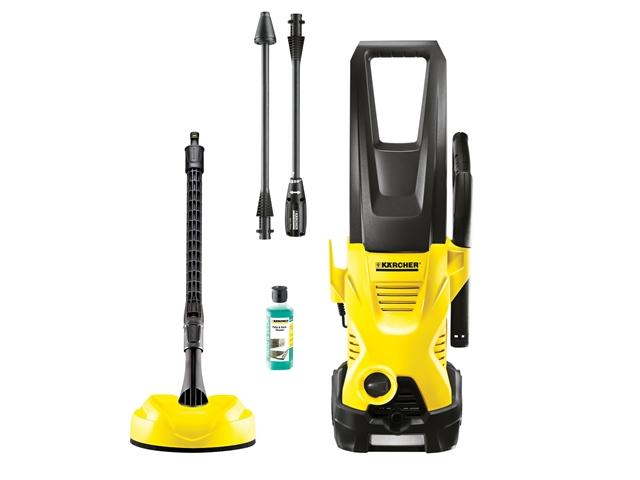 Karcher k2 premium home 230v 110 bar pressure washer and brush kit - Karcher k2 premium ...