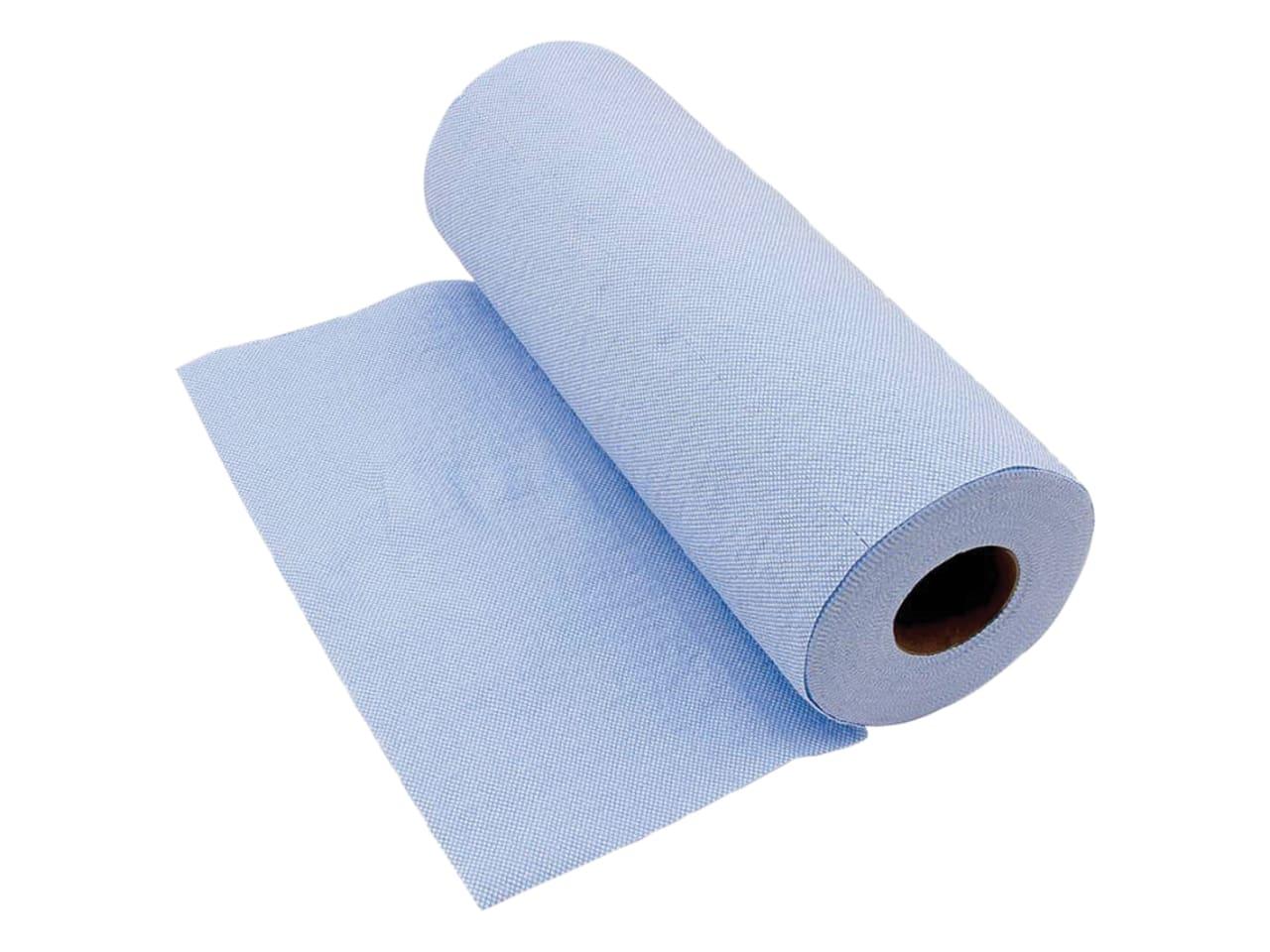 Blue Kimberley Clarke KCL32992B Heavy-Duty Shop Cloth Roll