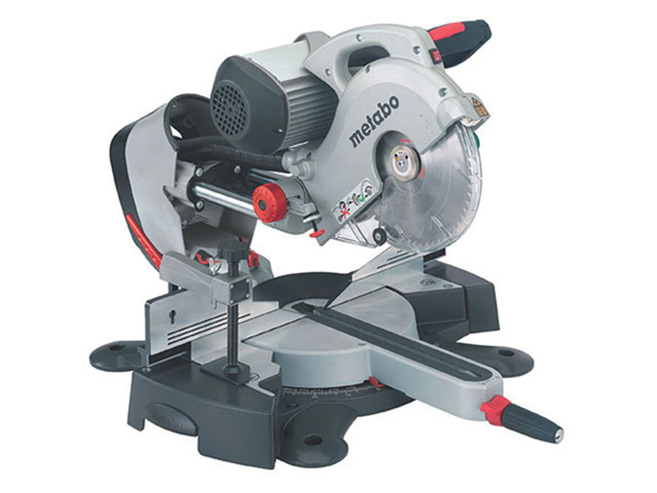 Metabo Kgs254 Iplus 240v Induction Motor Mitre Saw