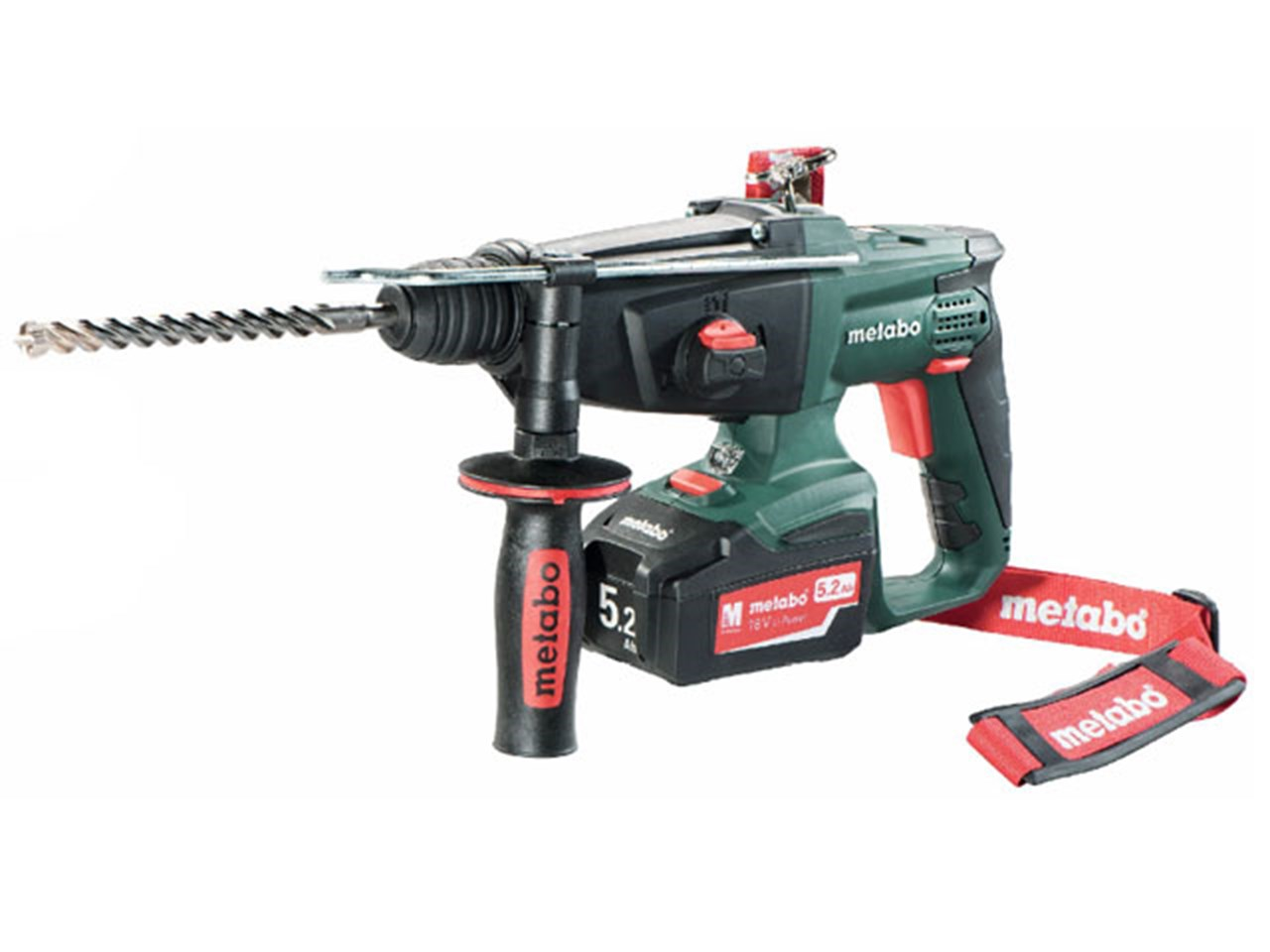 metabo kha 18 ltx 18v 3 function sds plus hammer drill 2 x. Black Bedroom Furniture Sets. Home Design Ideas