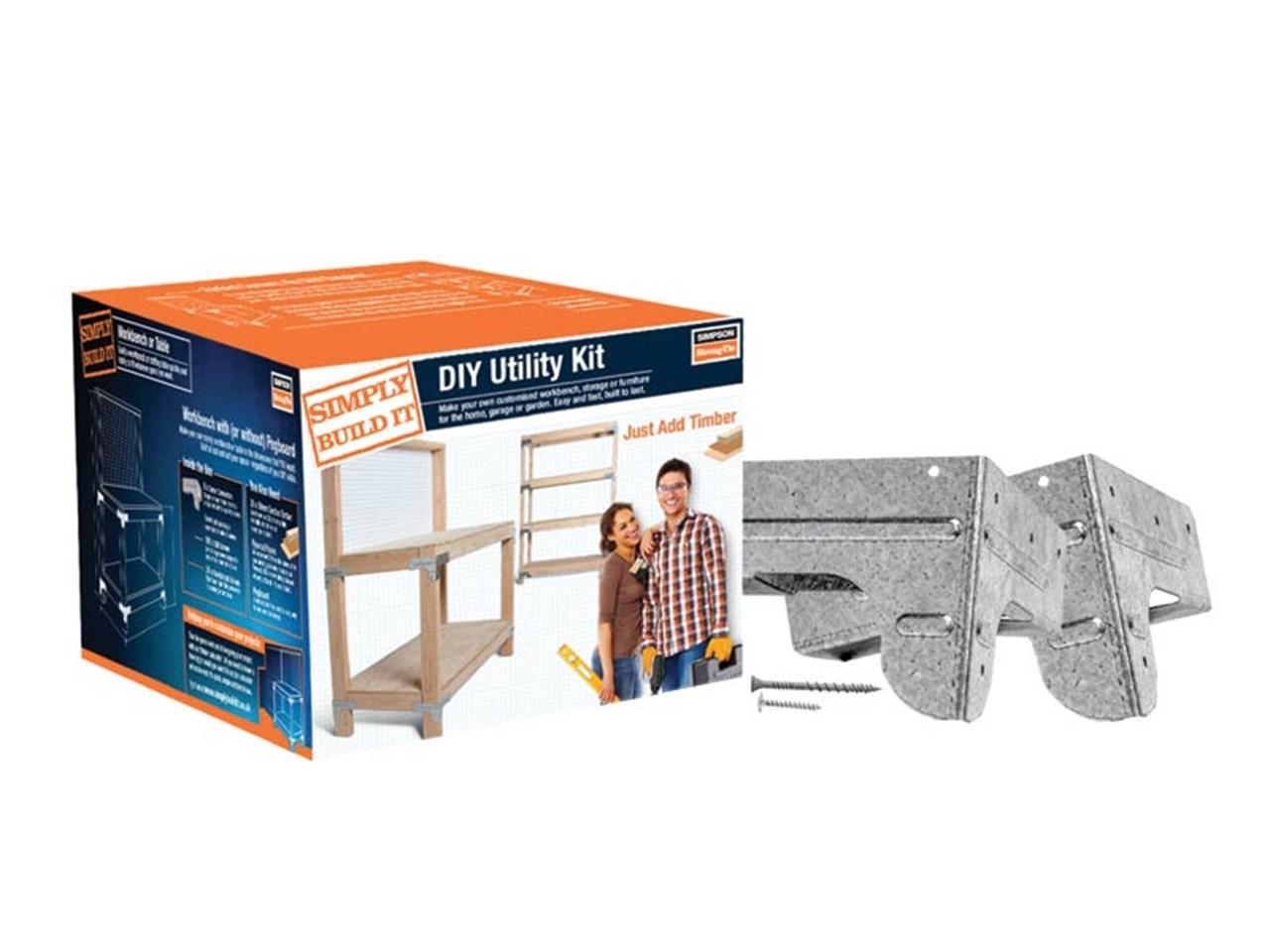 Simpson Strongtie Kwb1e Simply Build It Heavy Duty Workbench Kit