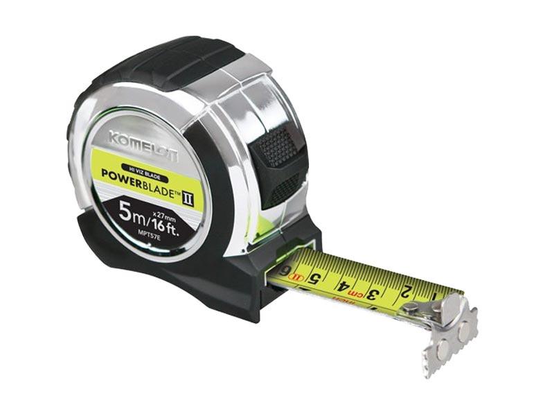 78 On Tape Measure: Komelon MPT57E PowerBlade 5m/16ft Tape Measure