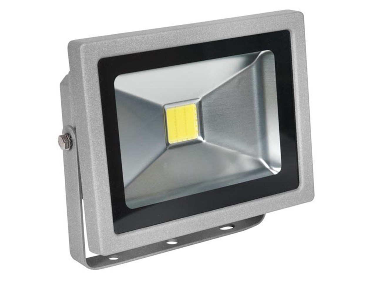 Sealey led120 led chip floodlight with wall bracket 20w 230v aloadofball Image collections
