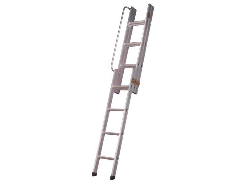 sealey lft03 loft ladder 3 section ebay. Black Bedroom Furniture Sets. Home Design Ideas