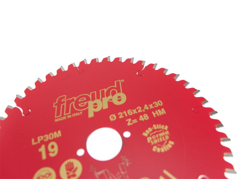 Freud Pro LP30M019 TCT Portable Saw Blade 216mm x 30 x 48 Tooth LP30M 019