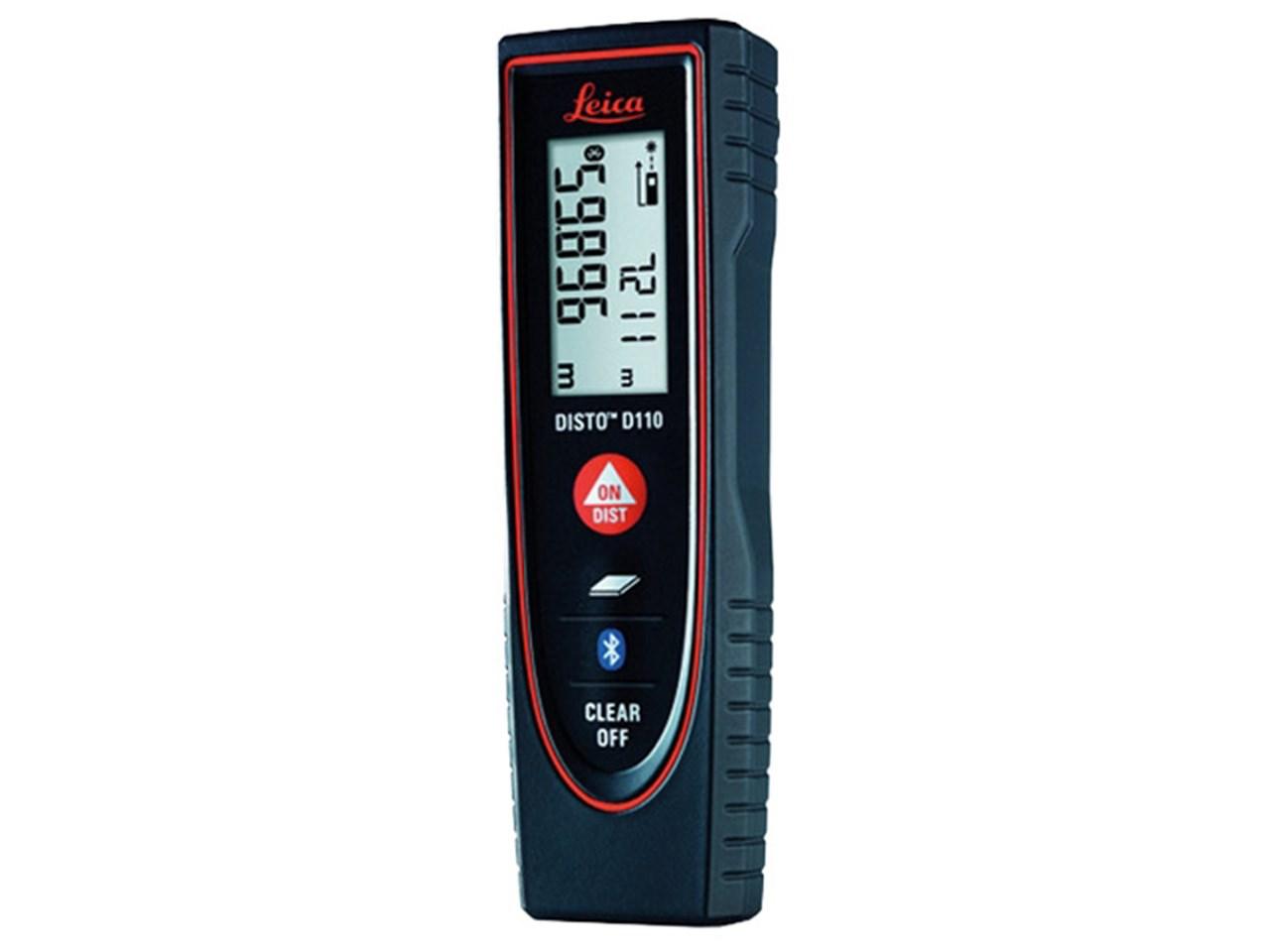 Leica disto d110 laser distance measurer 60m range bluetooth - Laser mesure distance ...