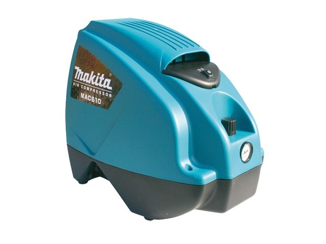Makita Mac610 Air Compressor 8 Bar 116psi 1 1hp 240v