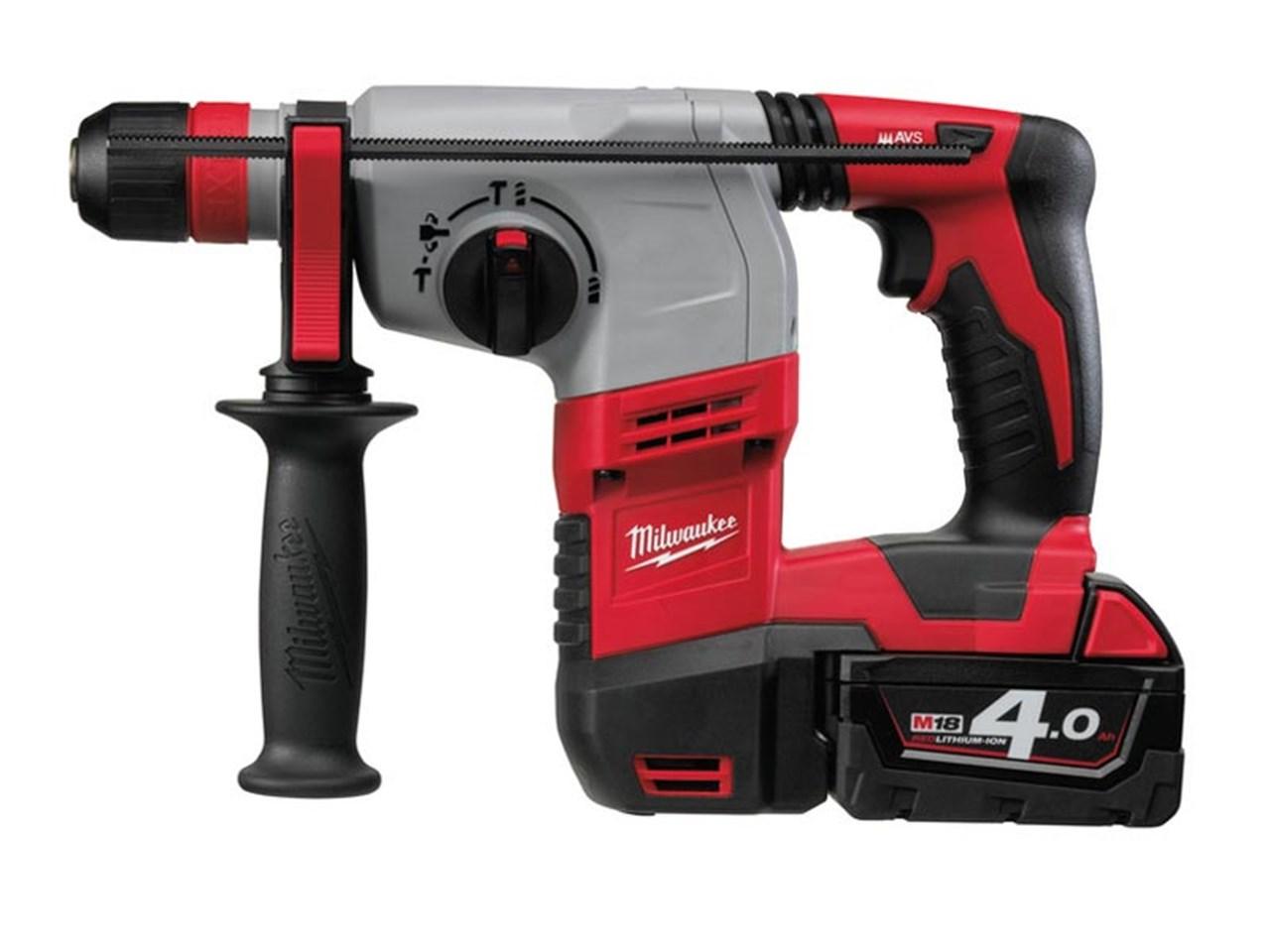 Milwaukee HD18HX-402C 18v SDS Plus Rotary Hammer Drill 2x4 0Ah Li-Ion