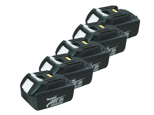 genuine makita bl1830 18v lxt li ion makstar battery pack of 5 ebay. Black Bedroom Furniture Sets. Home Design Ideas