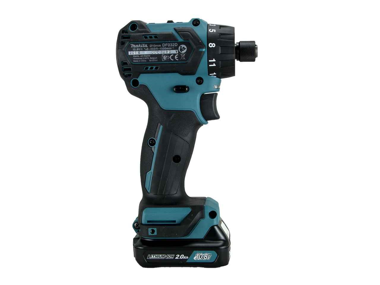 makita df032dsaj 10 8v cxt 2x2 0ah drill driver makpac kit. Black Bedroom Furniture Sets. Home Design Ideas