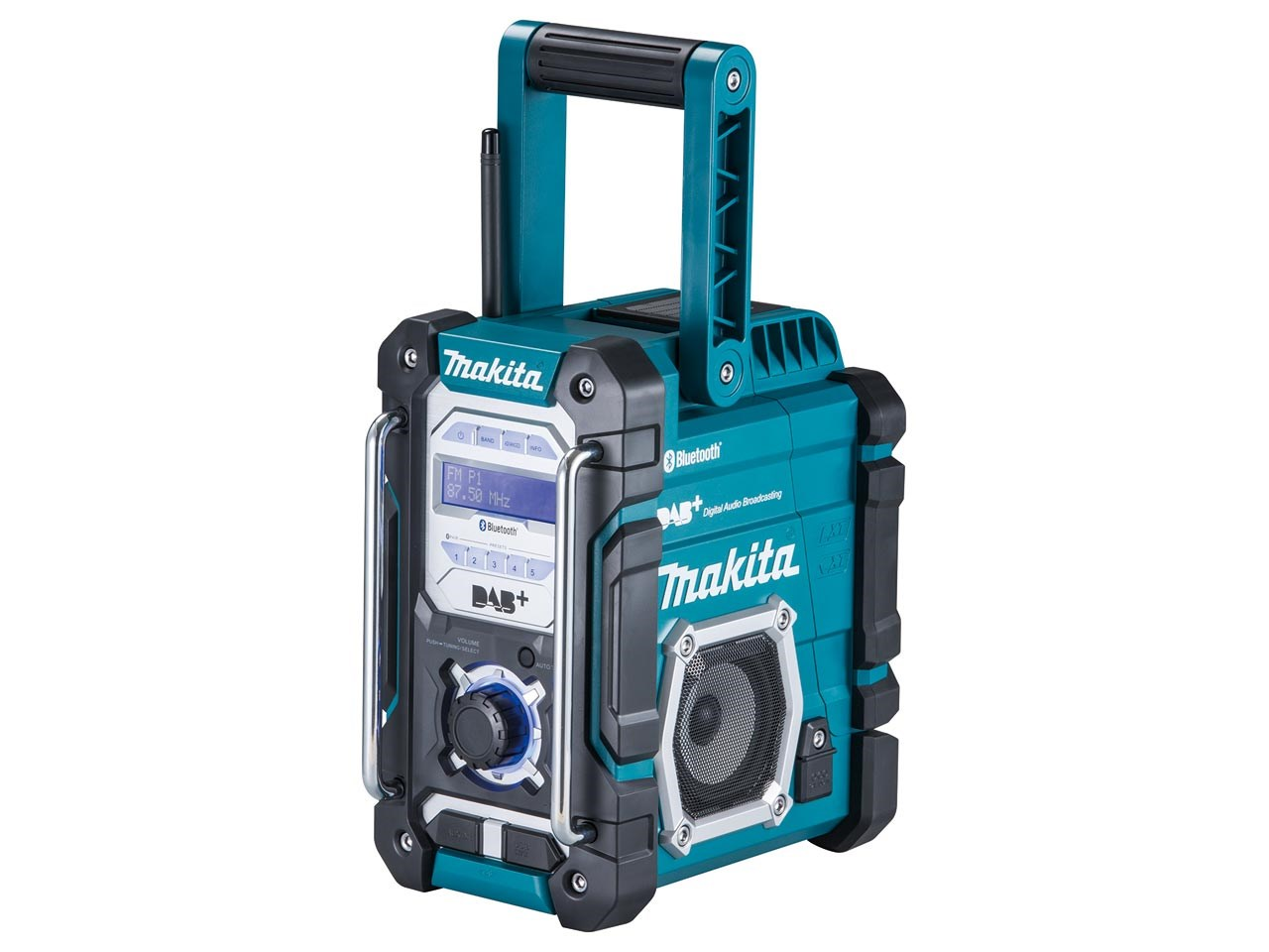 makita dmr112 dab dabplus job site bluetooth radio. Black Bedroom Furniture Sets. Home Design Ideas