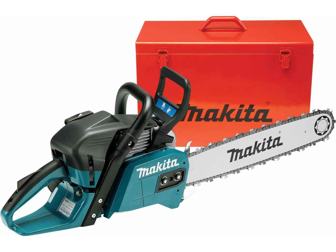 Makita ea5600f45dn 557cc 45cm bar petrol chainsaw greentooth Image collections