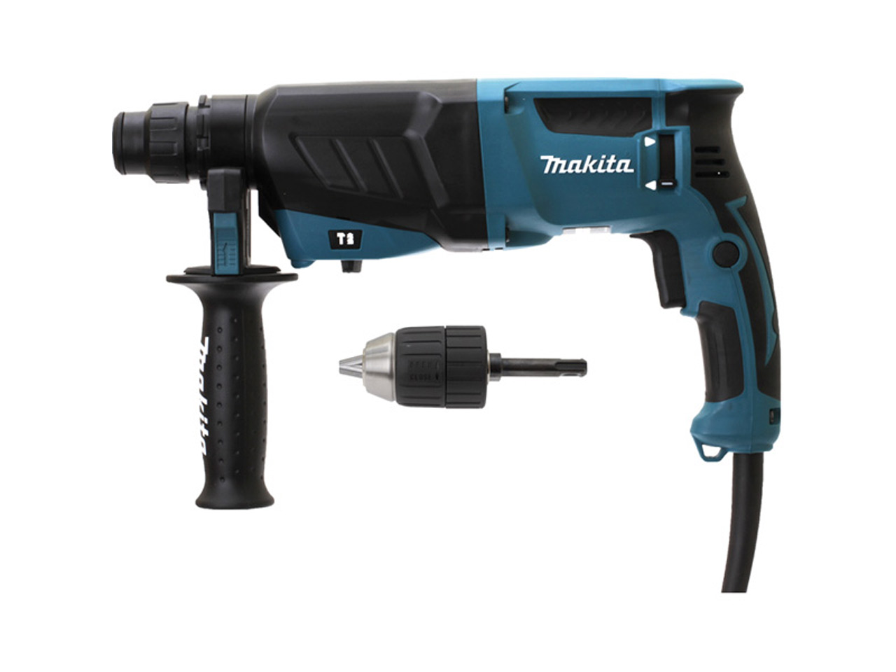 makita hr2630x7 1 110v 800w 3 function sds plus rotary hammer. Black Bedroom Furniture Sets. Home Design Ideas