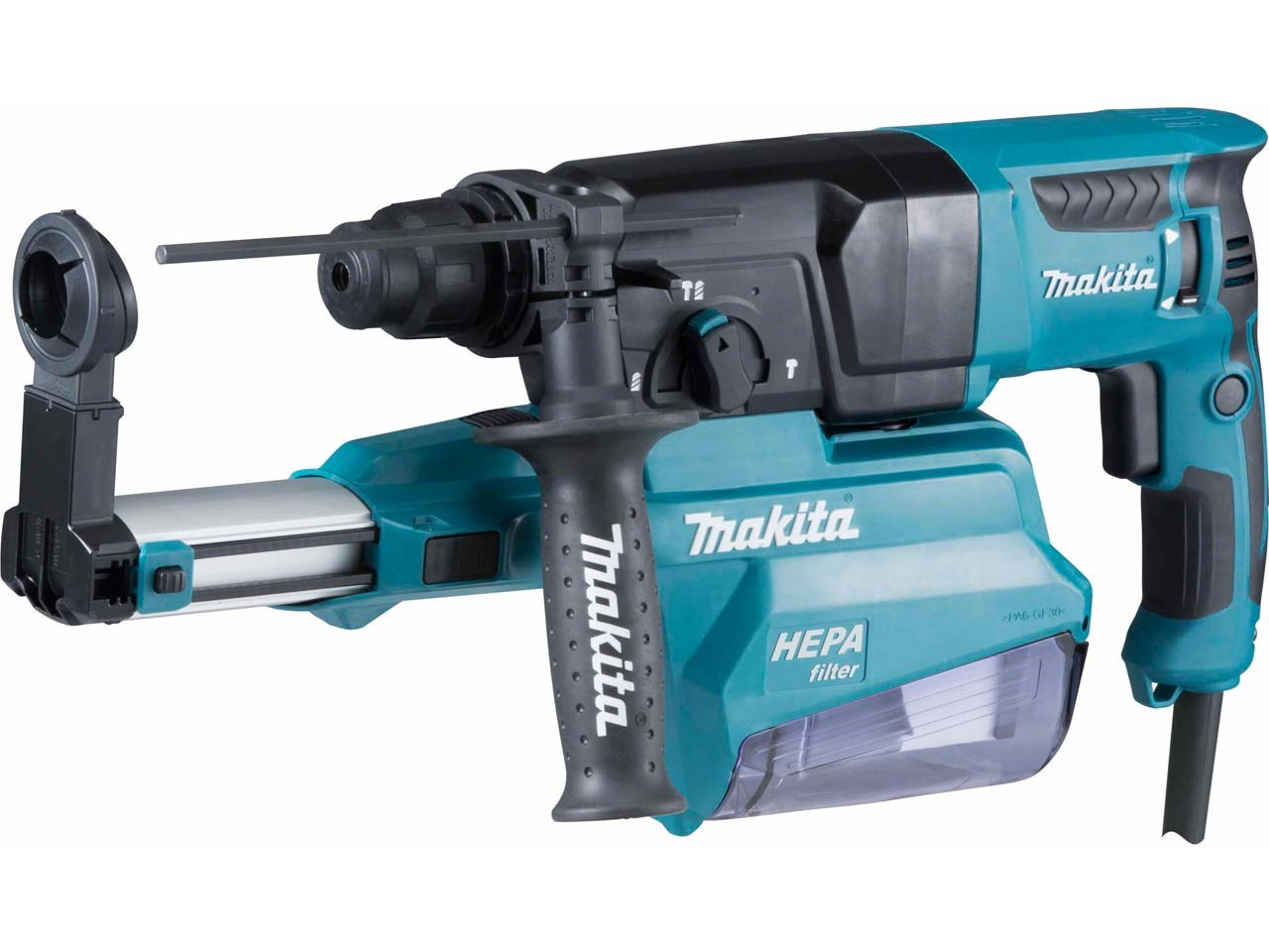 Makita Hr2650 1 110v 26mm Sds Plus Rotary Hammer With Dust