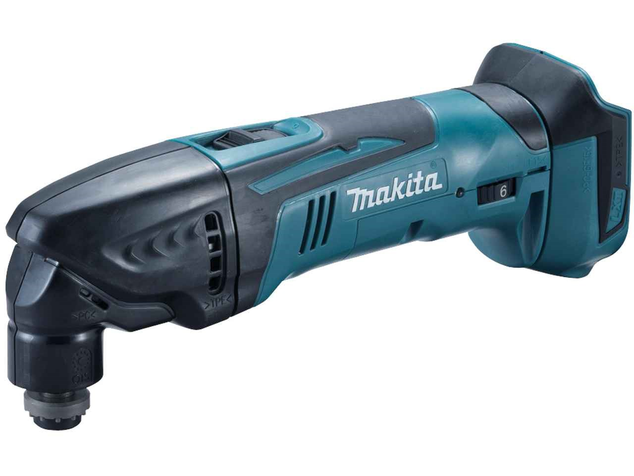 makita dtm50z 18v li ion oscillating multi tool bare unit. Black Bedroom Furniture Sets. Home Design Ideas