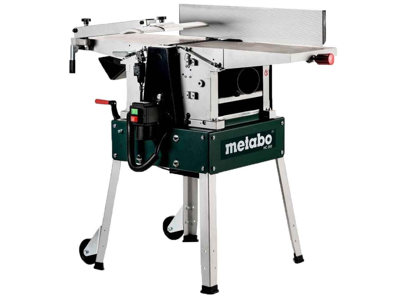 Metabo hc260c 240v planer and thicknesser with leg stand for Aspirateur 2000w