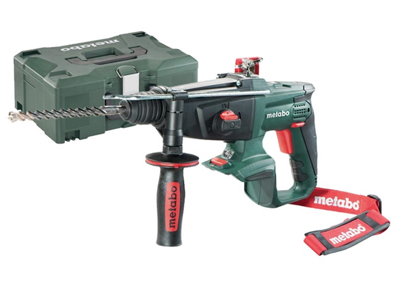 metabo kha18ltx 18v sds hammer drilll bare unit and metaloc. Black Bedroom Furniture Sets. Home Design Ideas