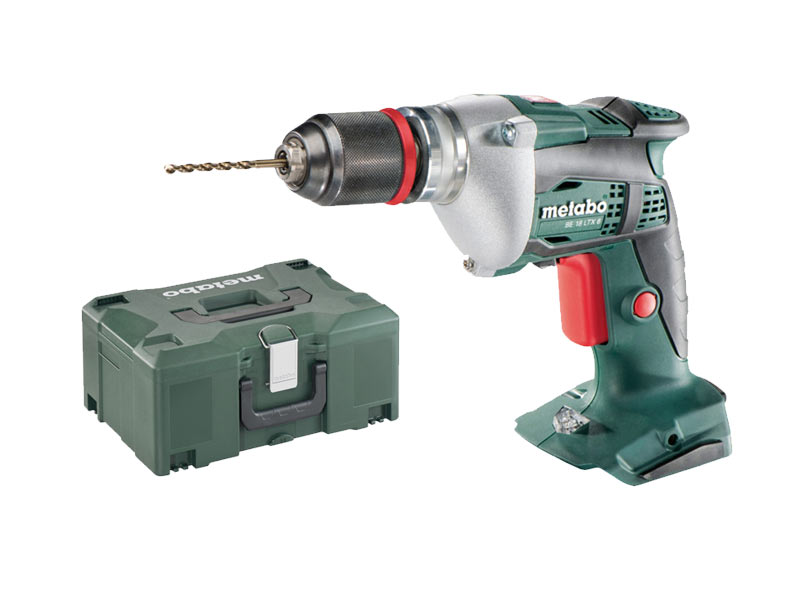 metabo be18ltx6 18v cordless drill bare unit and metaloc. Black Bedroom Furniture Sets. Home Design Ideas