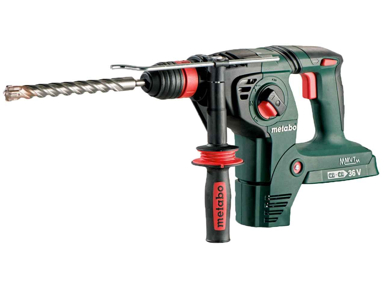 metabo kha36 18ltx32 36 18v ltx kha cordless hammer drill bare unit. Black Bedroom Furniture Sets. Home Design Ideas