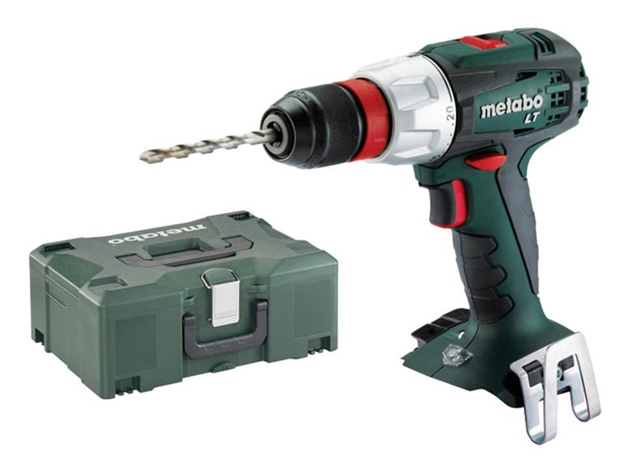metabo bs18ltquick 18v cordless drill driver bare unit and metaloc. Black Bedroom Furniture Sets. Home Design Ideas
