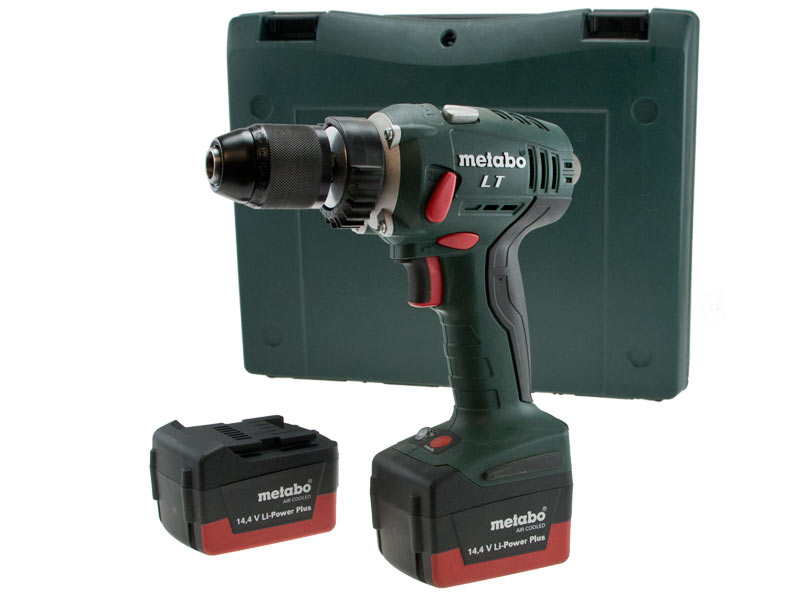 metabo bs14 4 lt 2x2 6ah li ion impuls drill driver kit 4007430183705 ebay. Black Bedroom Furniture Sets. Home Design Ideas