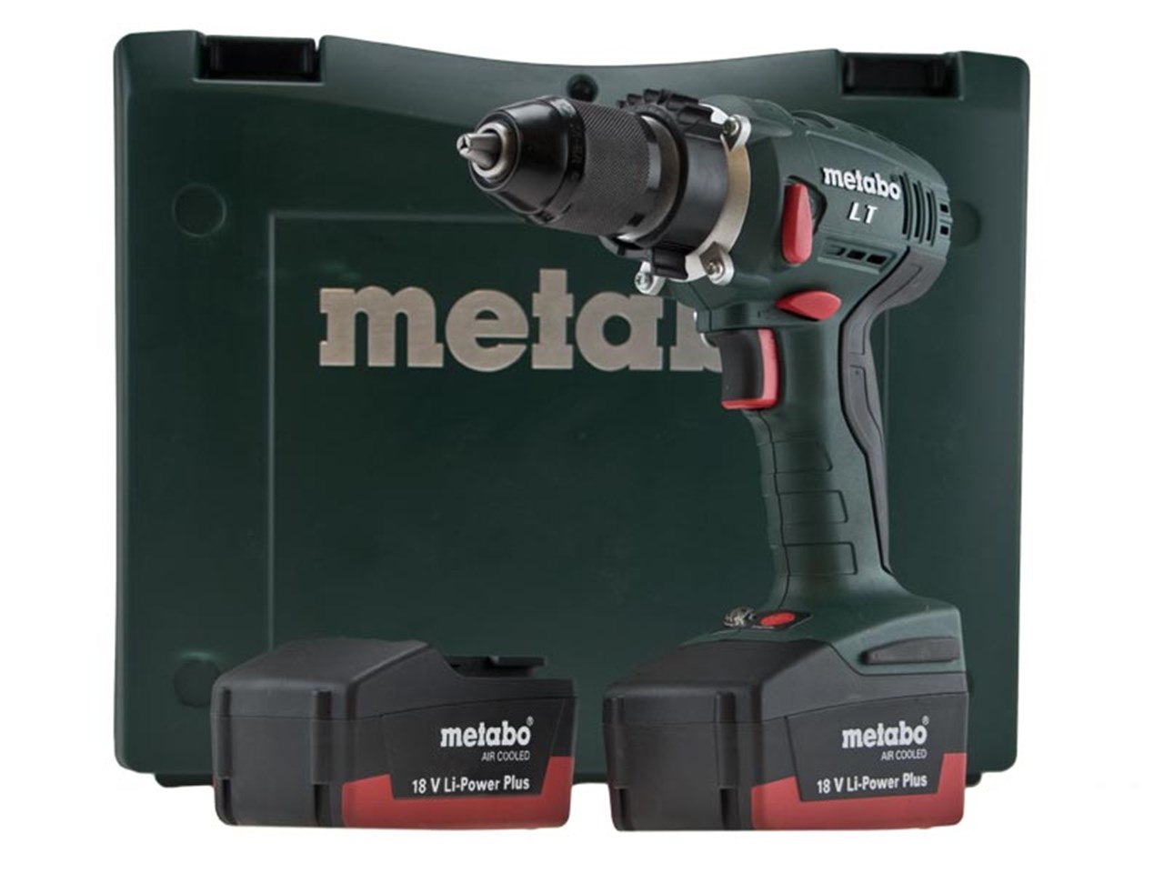metabo bs18 lt 18v power plus impuls drill driver kit 2 x 2 6ah. Black Bedroom Furniture Sets. Home Design Ideas