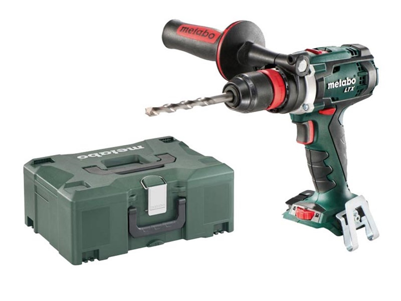 metabo bs18ltxquick 18v cordless drill driver bare unit and metaloc. Black Bedroom Furniture Sets. Home Design Ideas