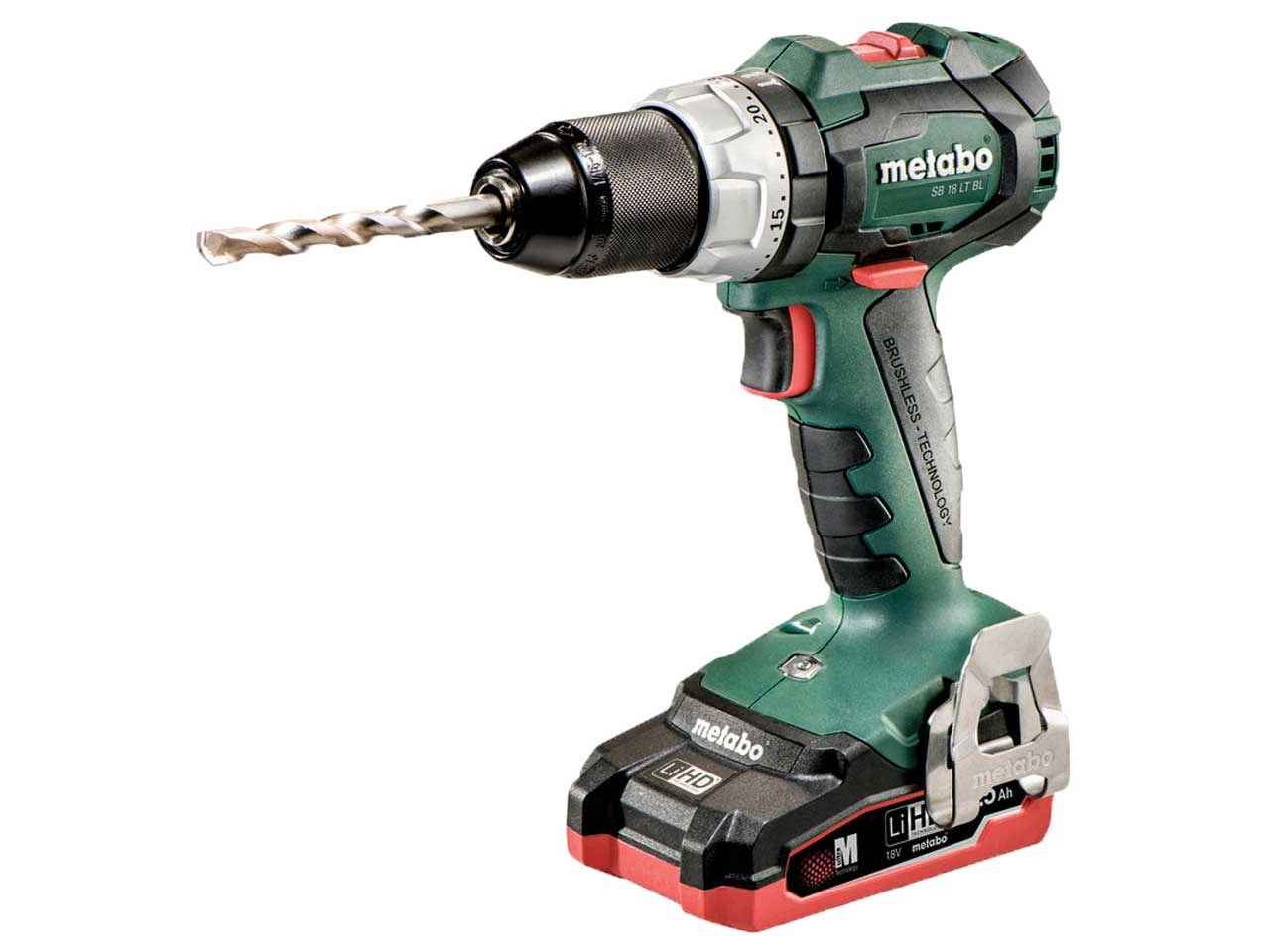 metabo sb 18 lt bl 18v lihd cordless impact drill. Black Bedroom Furniture Sets. Home Design Ideas