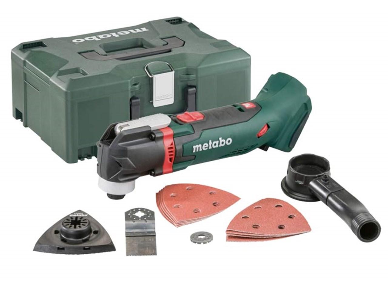 metabo mt18ltx 18v multi tool bare unit and metaloc