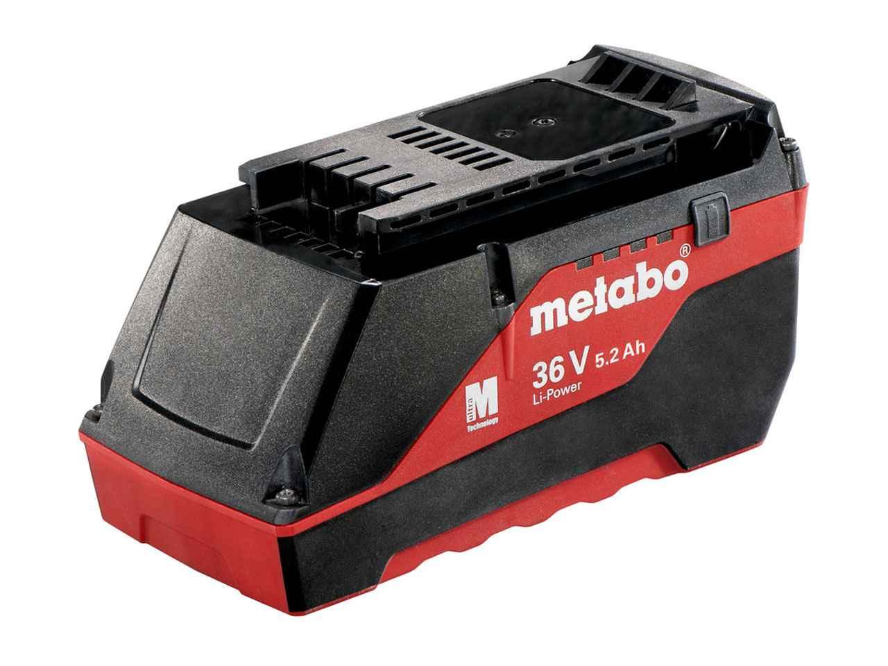 metabo 625529000 36v 5 2ah ah li ion batterie packung. Black Bedroom Furniture Sets. Home Design Ideas