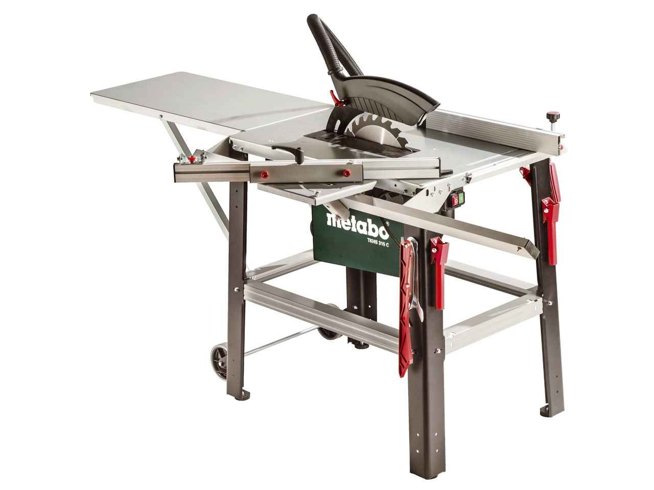 Metabo Tkhs 315 C 230v Site Table Saw With Sliding Carriage