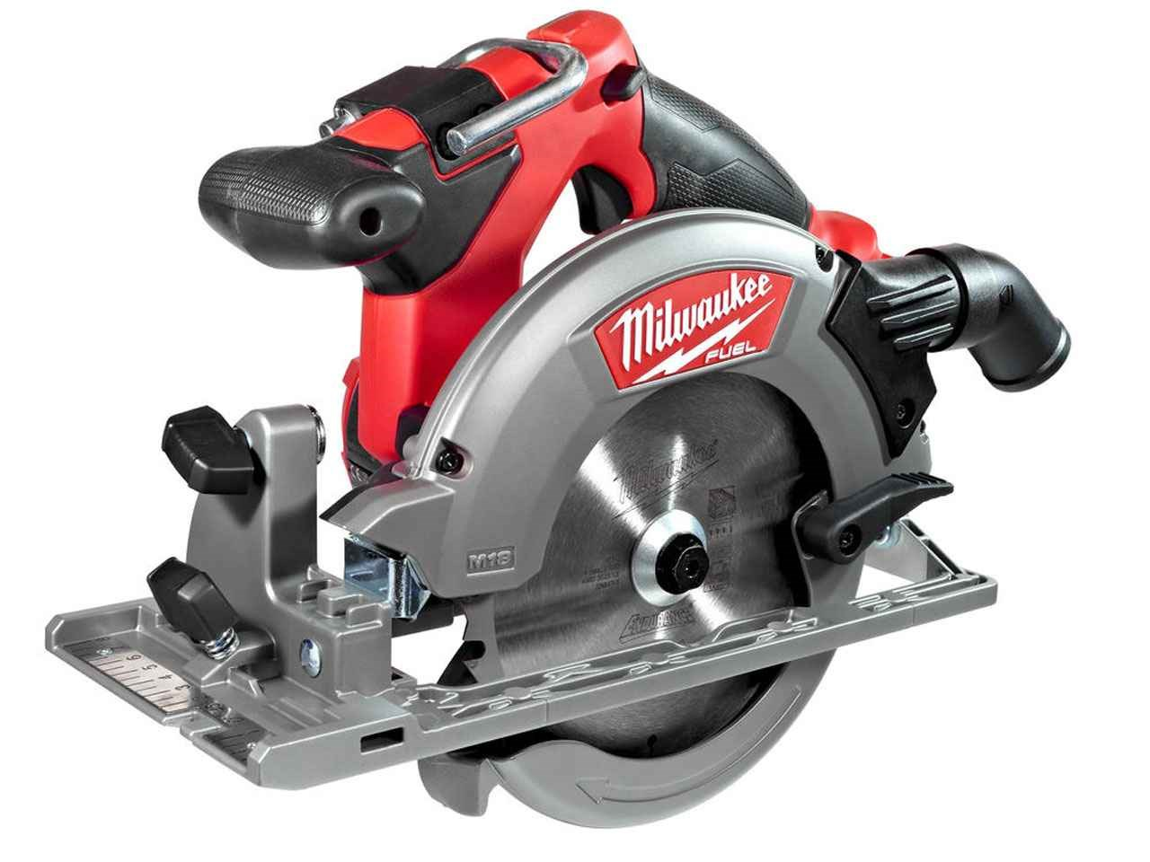 Milwaukee m18ccs55 0 m18 fuel 18v circular saw bare unit greentooth Image collections