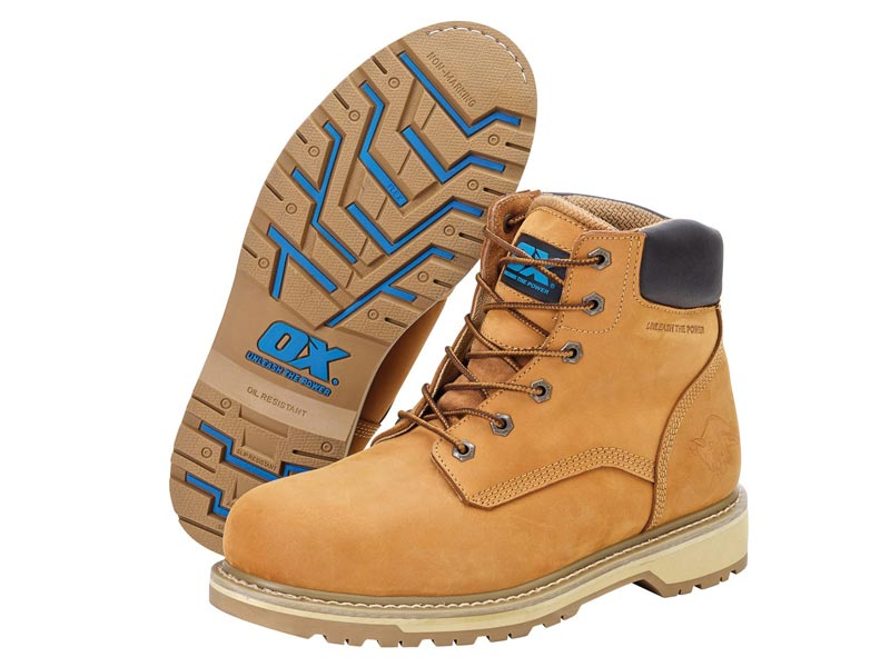 2012ec5fa51 Ox Tools Pro Safety Boots In Various Sizes