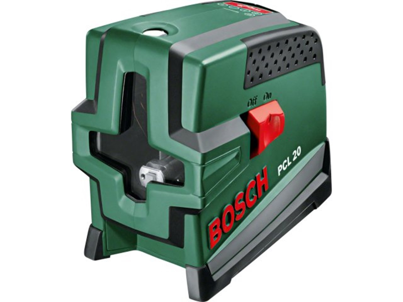 bosch green pcl20 10m cross line laser with plumb function. Black Bedroom Furniture Sets. Home Design Ideas