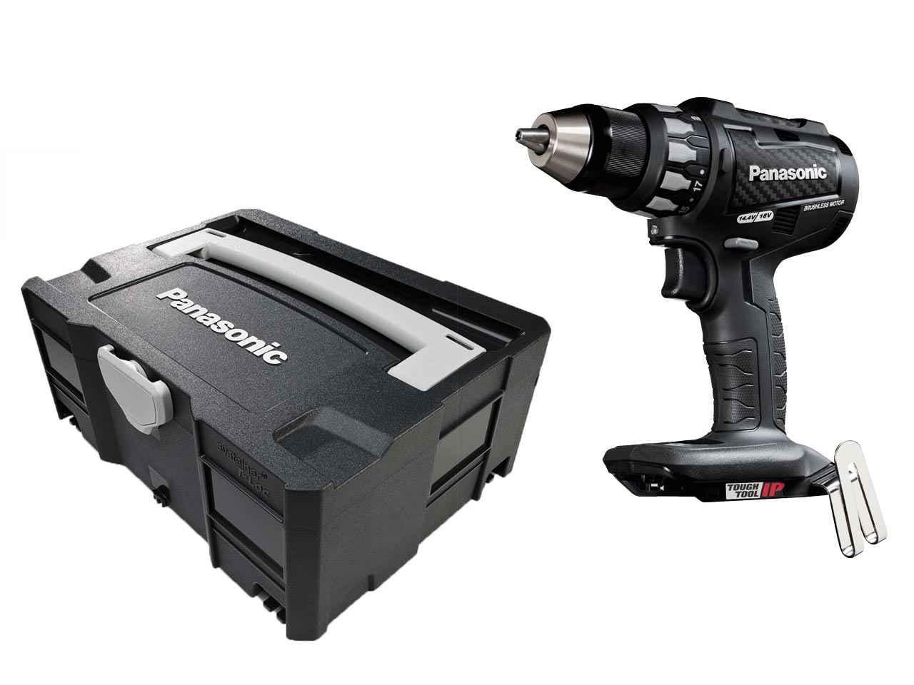 Panasonic EY74A2X 18v//14.4v Brushless Drill Driver Bare Unit SYS T-LOC