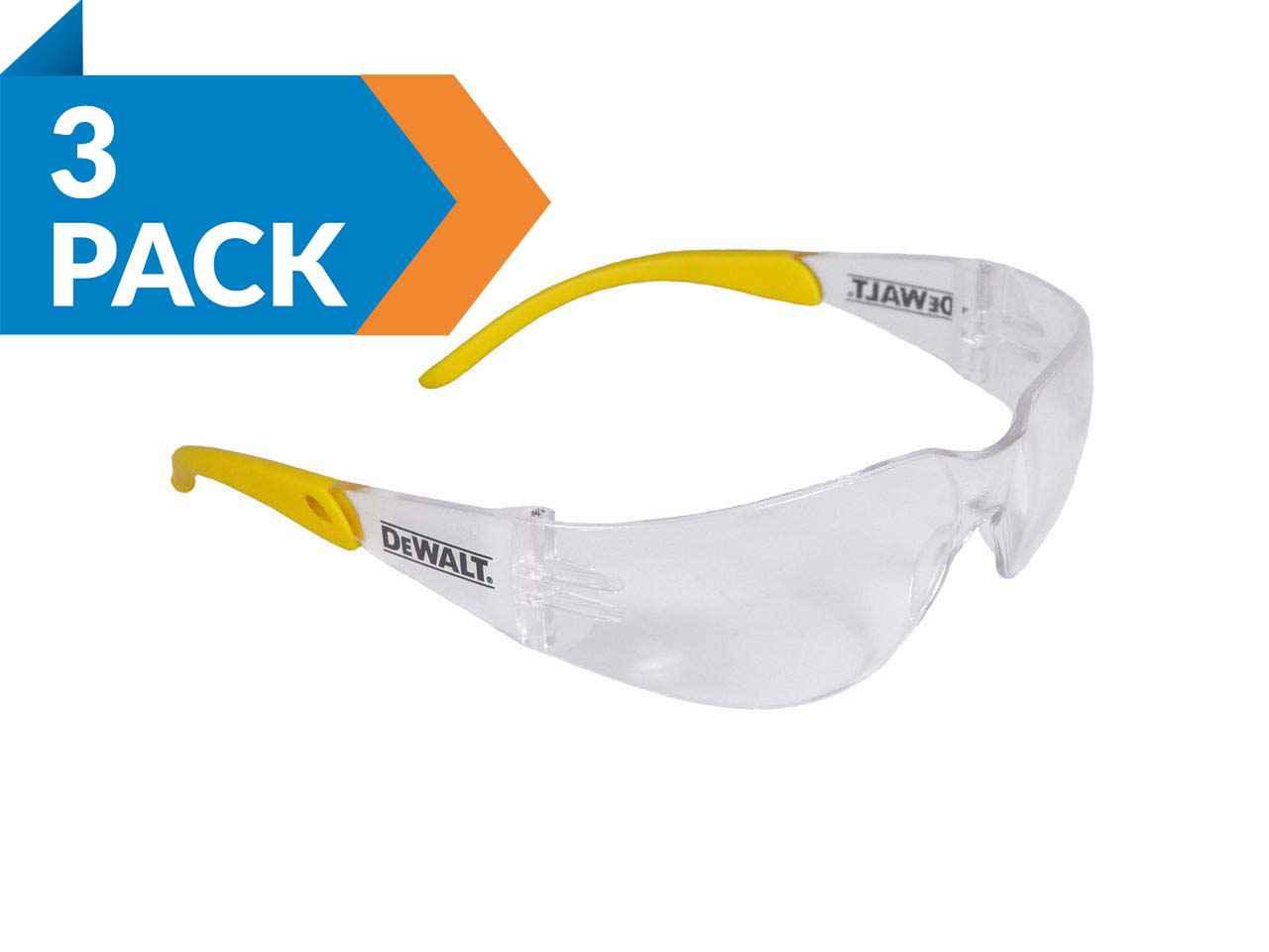 Clear DEWSGPC DEWALT Protector Safety Glasses